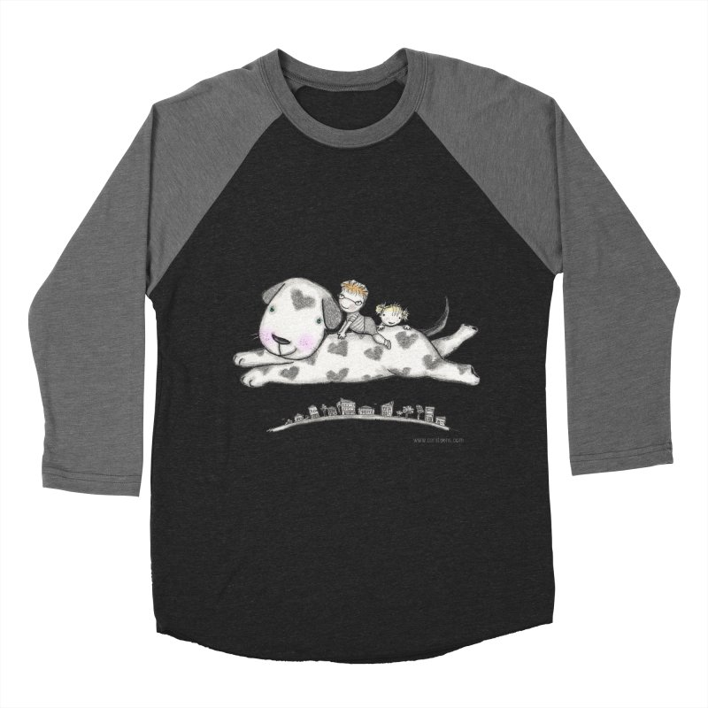 Big Dog Adventure Women's Baseball Triblend Longsleeve T-Shirt by caratoons's Shop