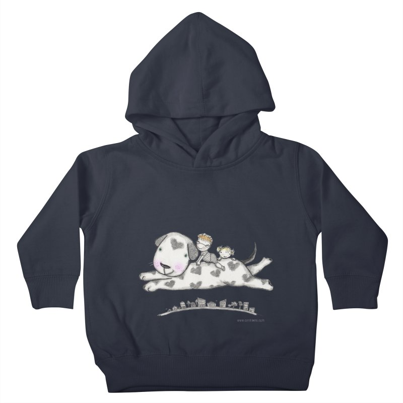 Big Dog Adventure Kids Toddler Pullover Hoody by caratoons's Shop