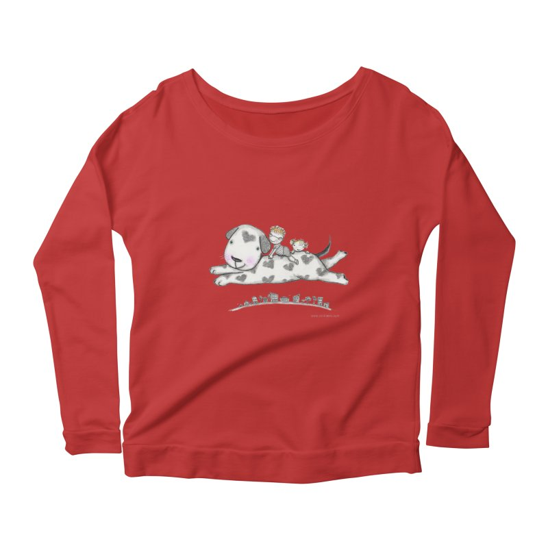 Big Dog Adventure Women's  by caratoons's Shop