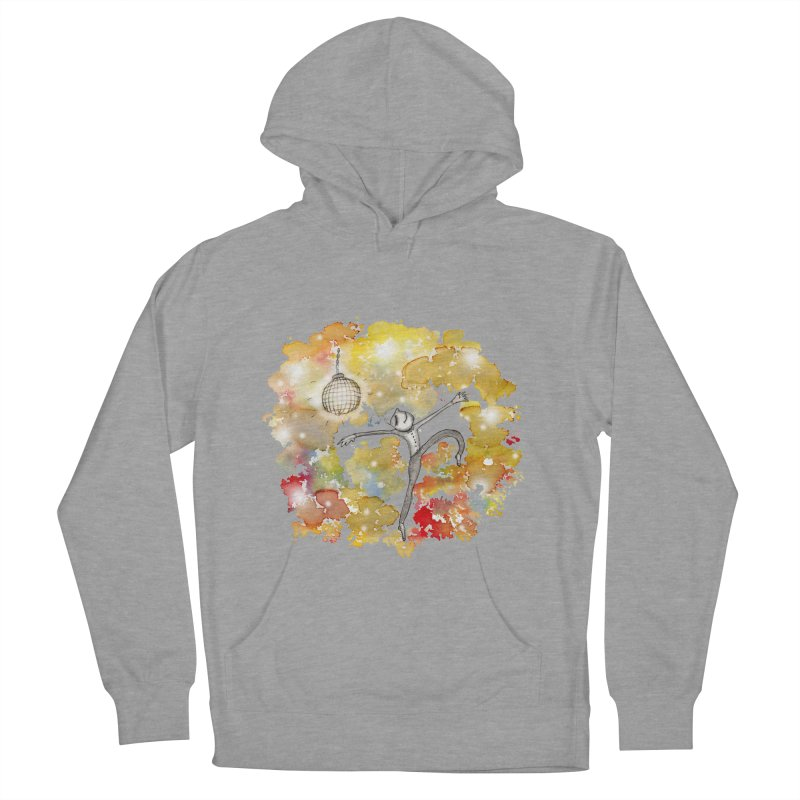 Disco Happy Men's French Terry Pullover Hoody by caratoons's Shop