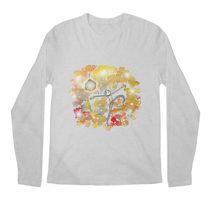 Disco Happy Men's Regular Longsleeve T-Shirt by caratoons's Shop