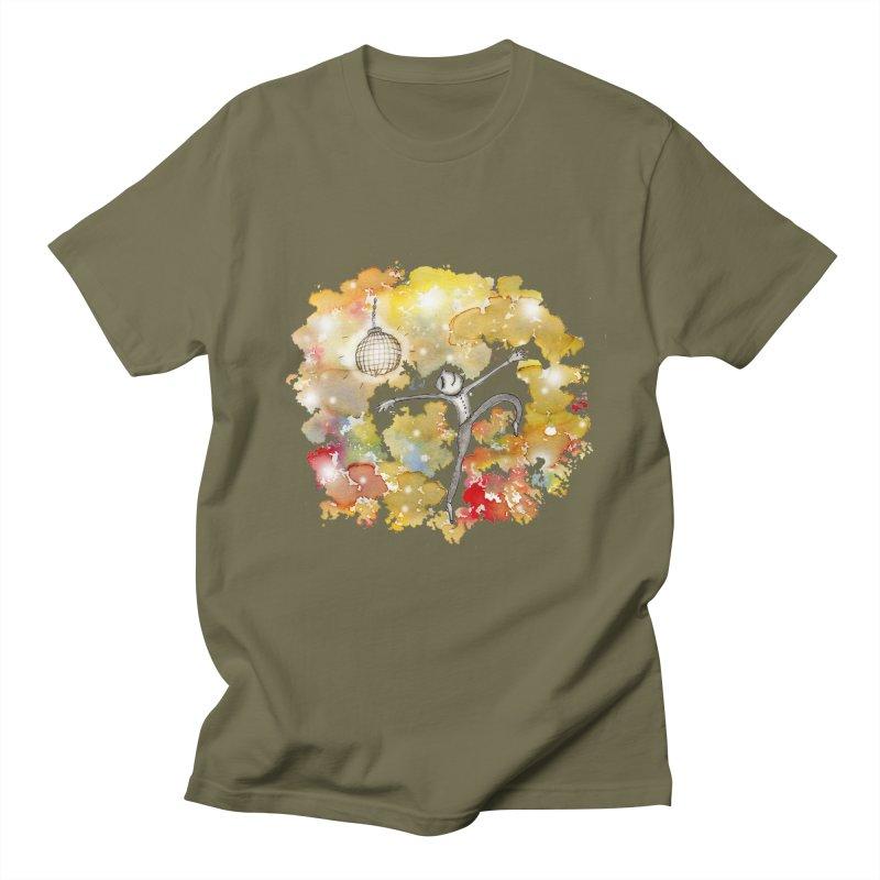 Disco Happy Men's Regular T-Shirt by caratoons's Shop