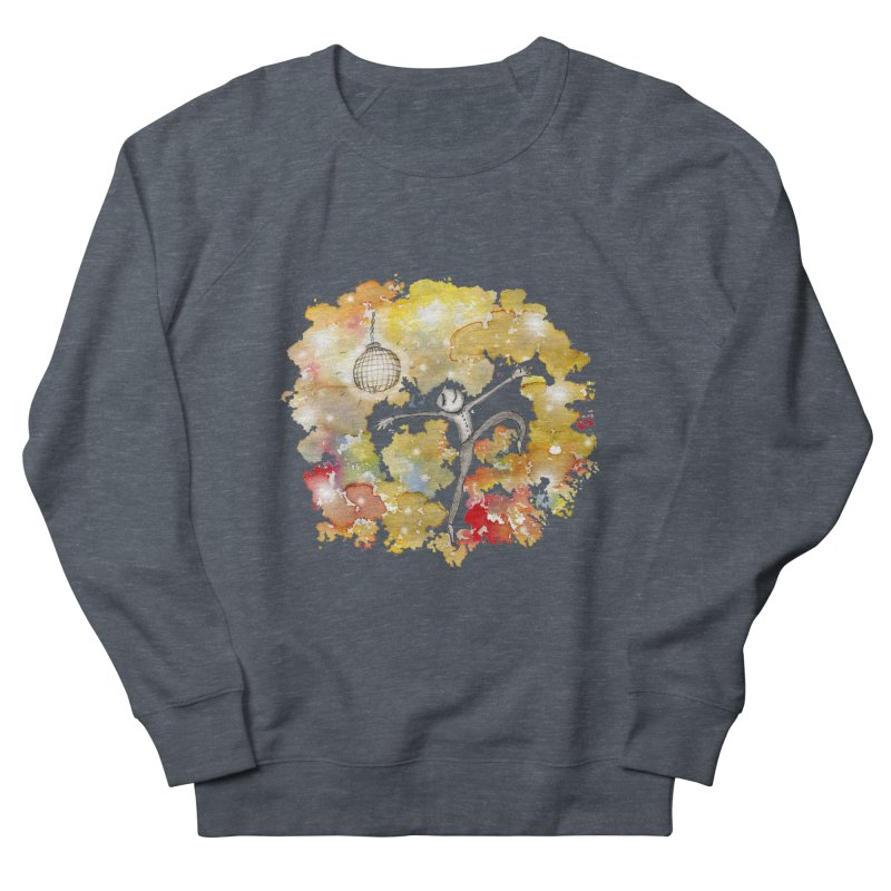 Disco Happy Men's French Terry Sweatshirt by caratoons's Shop