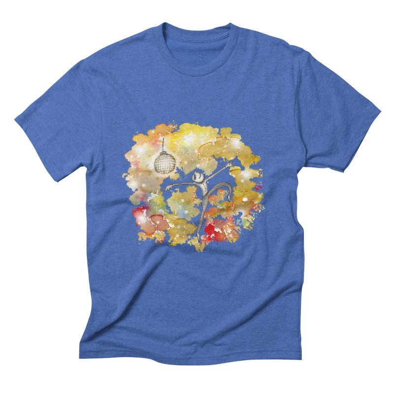 Disco Happy Men's Triblend T-Shirt by caratoons's Shop