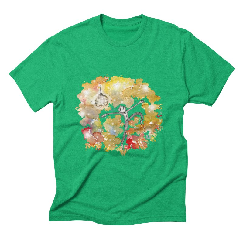 Disco Happy Men's Triblend T-Shirt by caratoons's Shop