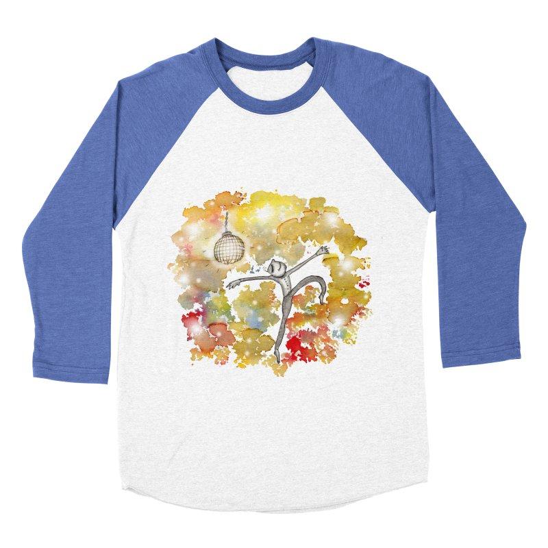Disco Happy Men's Baseball Triblend Longsleeve T-Shirt by caratoons's Shop