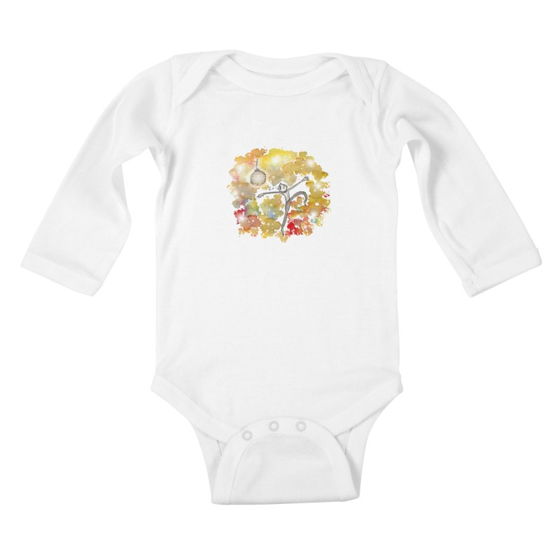 Disco Happy Kids Baby Longsleeve Bodysuit by caratoons's Shop