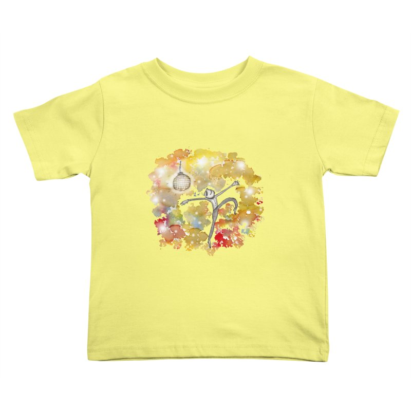 Disco Happy Kids Toddler T-Shirt by caratoons's Shop