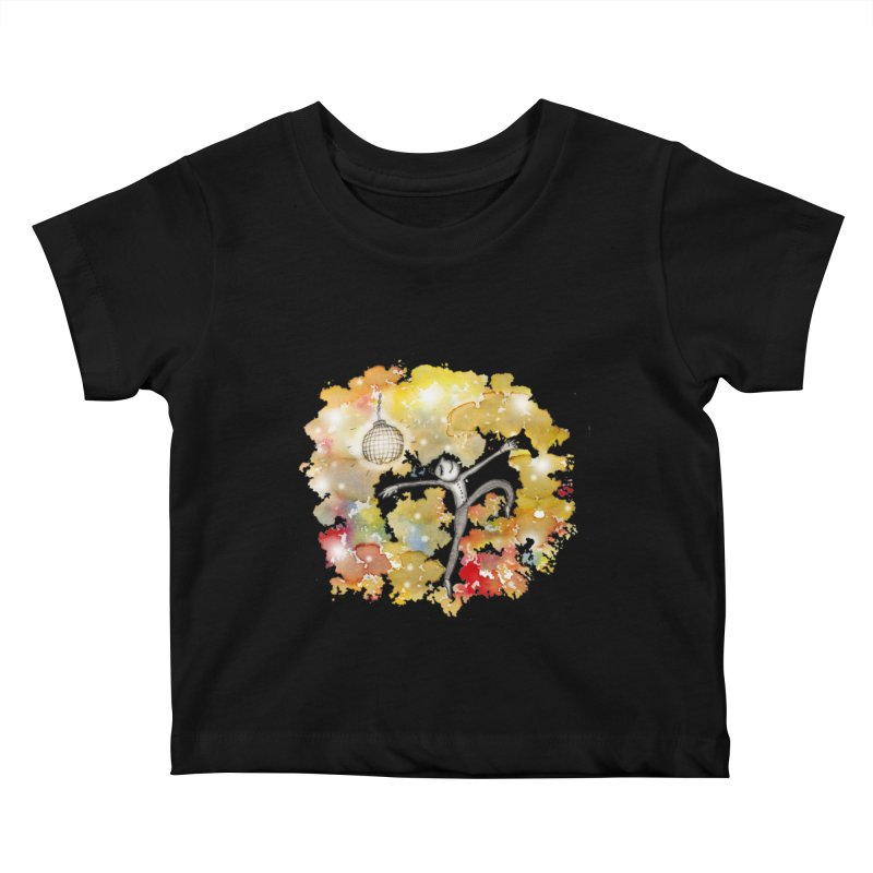 Disco Happy Kids Baby T-Shirt by caratoons's Shop