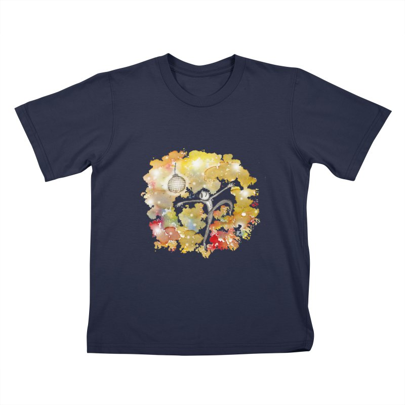Disco Happy Kids T-Shirt by caratoons's Shop