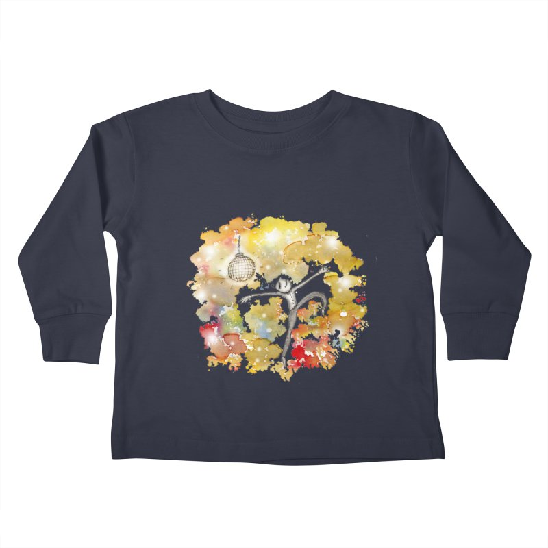 Disco Happy Kids Toddler Longsleeve T-Shirt by caratoons's Shop
