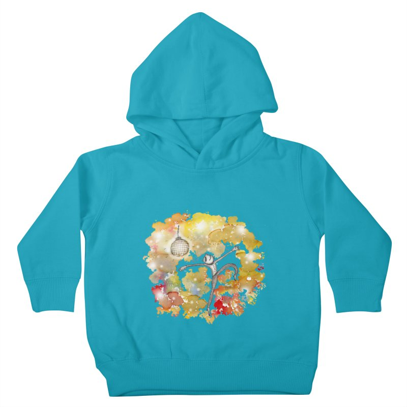 Disco Happy Kids Toddler Pullover Hoody by caratoons's Shop
