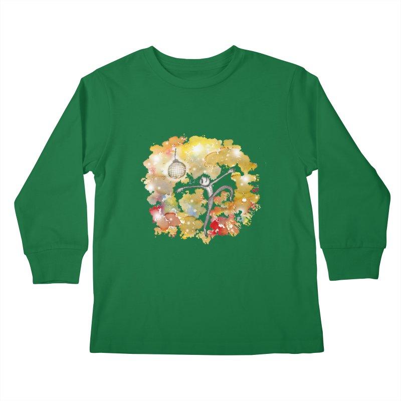 Disco Happy Kids Longsleeve T-Shirt by caratoons's Shop