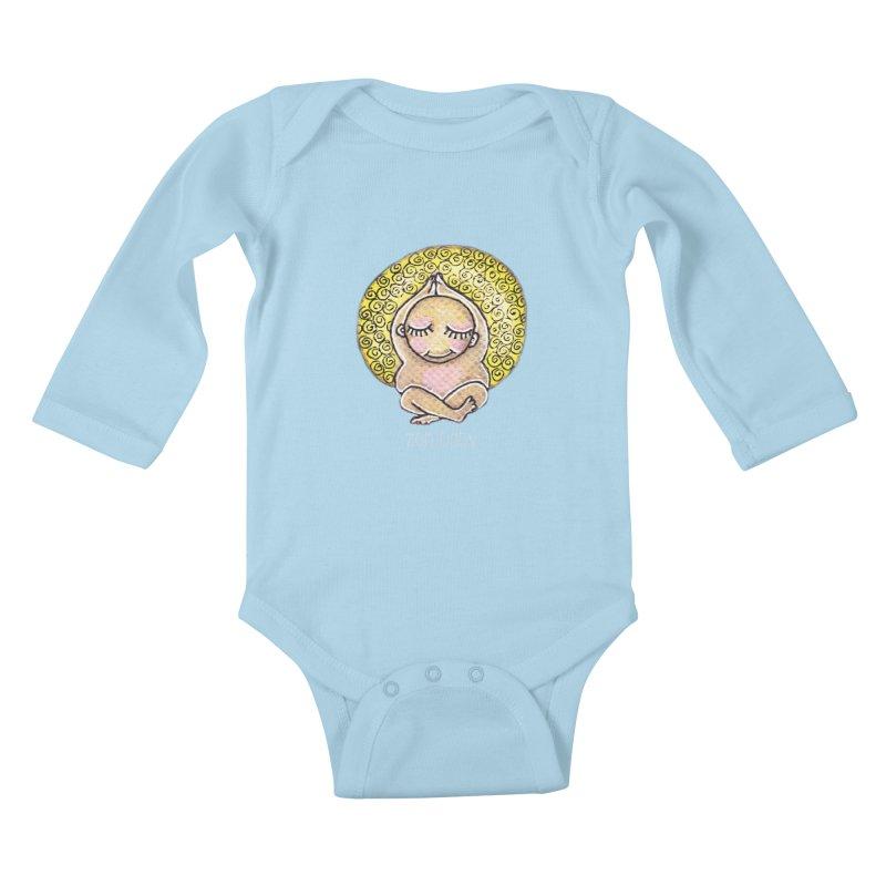 zen baby Kids Baby Longsleeve Bodysuit by caratoons's Shop