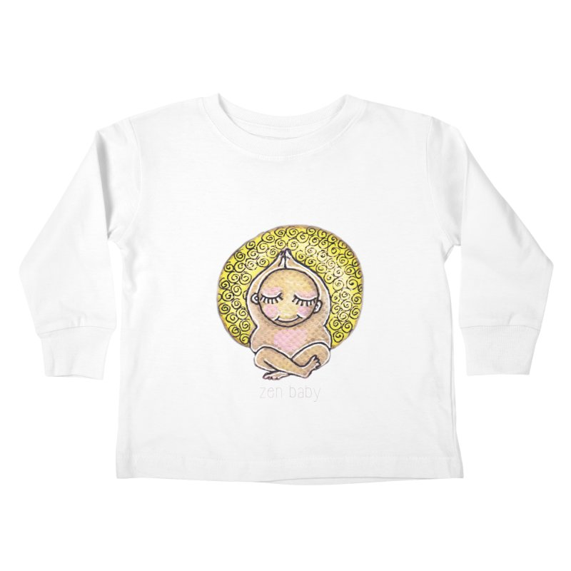 zen baby Kids Toddler Longsleeve T-Shirt by caratoons's Shop