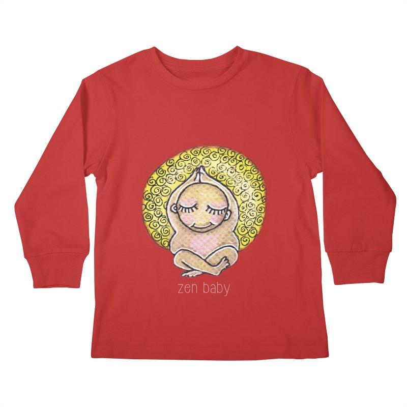 zen baby Kids Longsleeve T-Shirt by caratoons's Shop