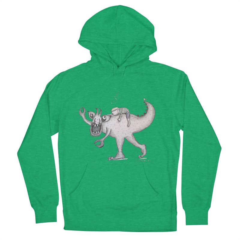 Marvellous monster of sleep Men's French Terry Pullover Hoody by caratoons's Shop