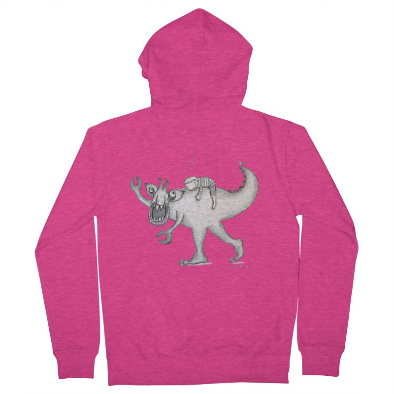 Marvellous monster of sleep Women's French Terry Zip-Up Hoody by caratoons's Shop