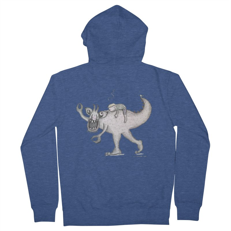 Marvellous monster of sleep Men's French Terry Zip-Up Hoody by caratoons's Shop