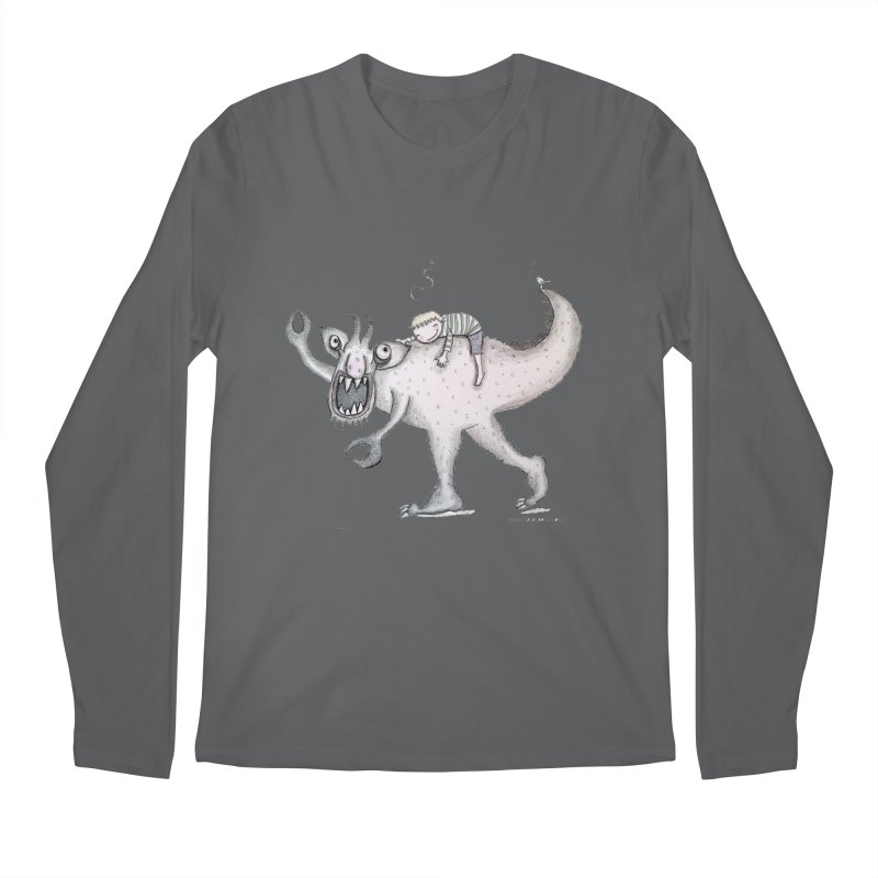 Marvellous monster of sleep Men's Regular Longsleeve T-Shirt by caratoons's Shop