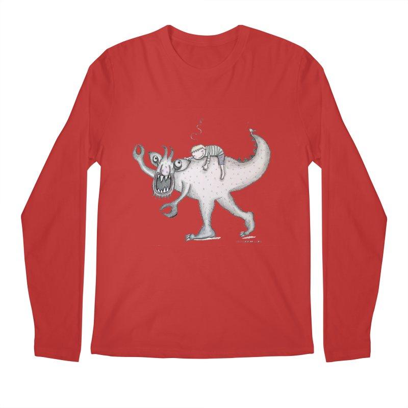 Marvellous monster of sleep Men's Longsleeve T-Shirt by caratoons's Shop