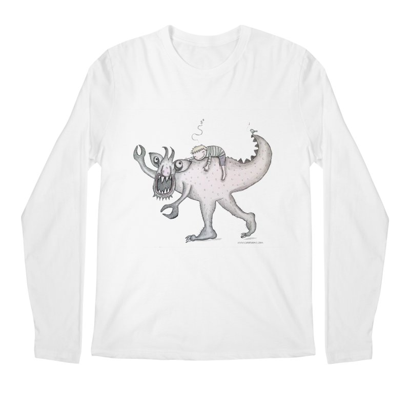 Marvellous monster of sleep Men's Regular Longsleeve T-Shirt by caratoons's Shop