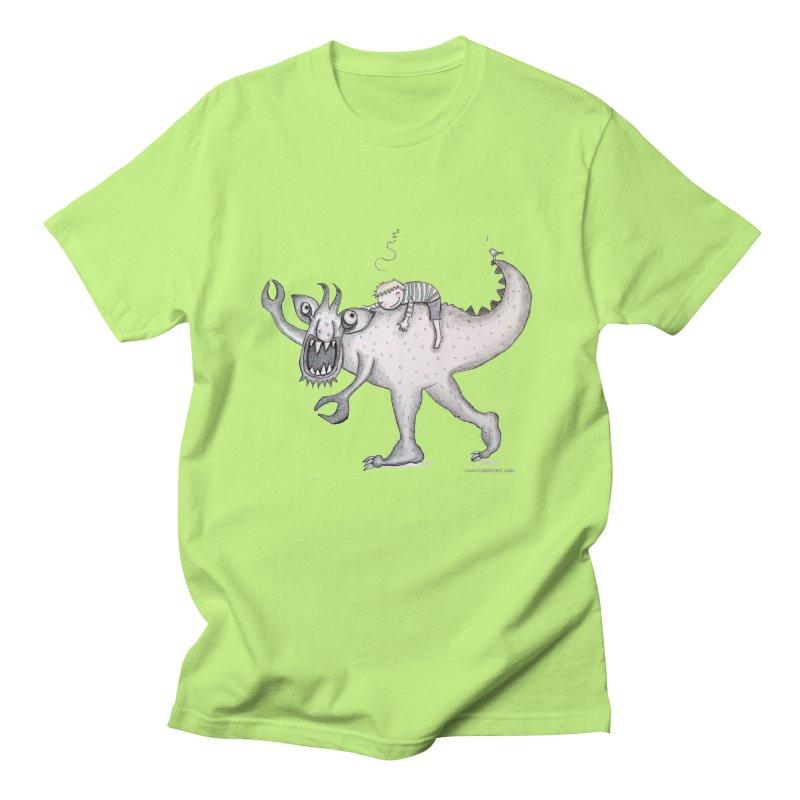 Marvellous monster of sleep Men's Regular T-Shirt by caratoons's Shop