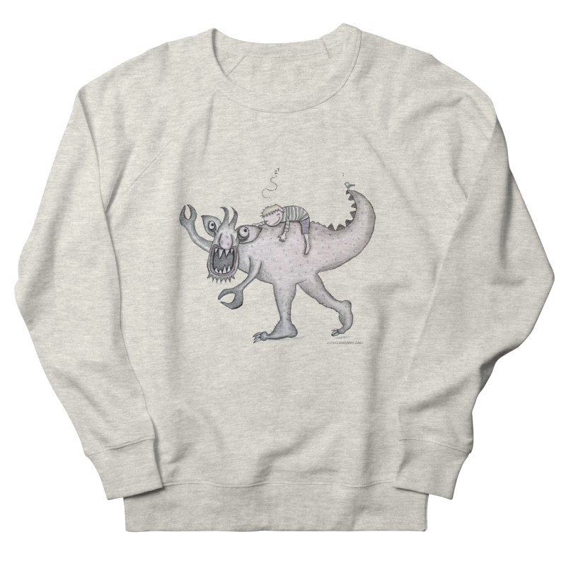Marvellous monster of sleep Women's French Terry Sweatshirt by caratoons's Shop