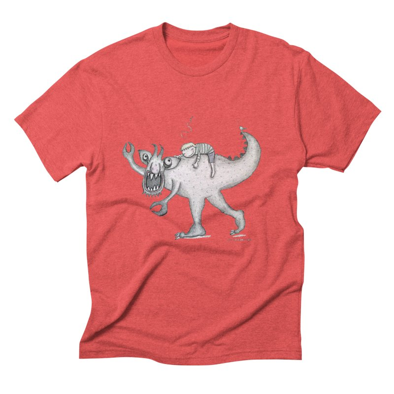Marvellous monster of sleep Men's Triblend T-Shirt by caratoons's Shop