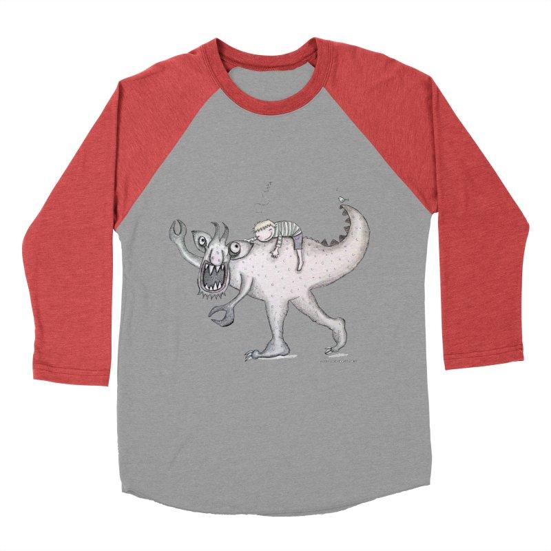 Marvellous monster of sleep Women's Baseball Triblend Longsleeve T-Shirt by caratoons's Shop