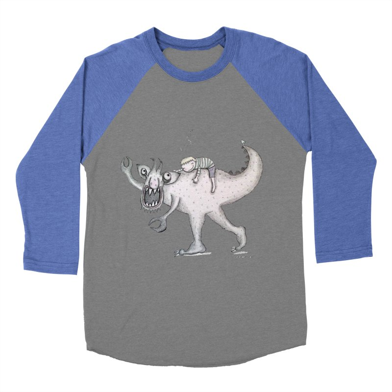 Marvellous monster of sleep Men's Baseball Triblend Longsleeve T-Shirt by caratoons's Shop
