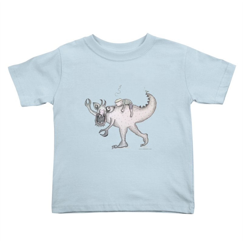 Marvellous monster of sleep Kids Toddler T-Shirt by caratoons's Shop