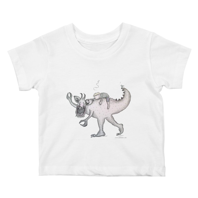 Marvellous monster of sleep Kids Baby T-Shirt by caratoons's Shop