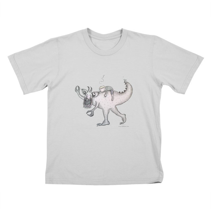 Marvellous monster of sleep Kids T-Shirt by caratoons's Shop