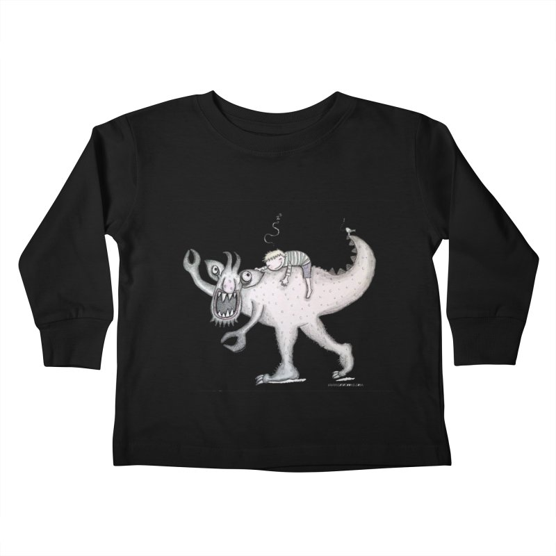 Marvellous monster of sleep Kids Toddler Longsleeve T-Shirt by caratoons's Shop