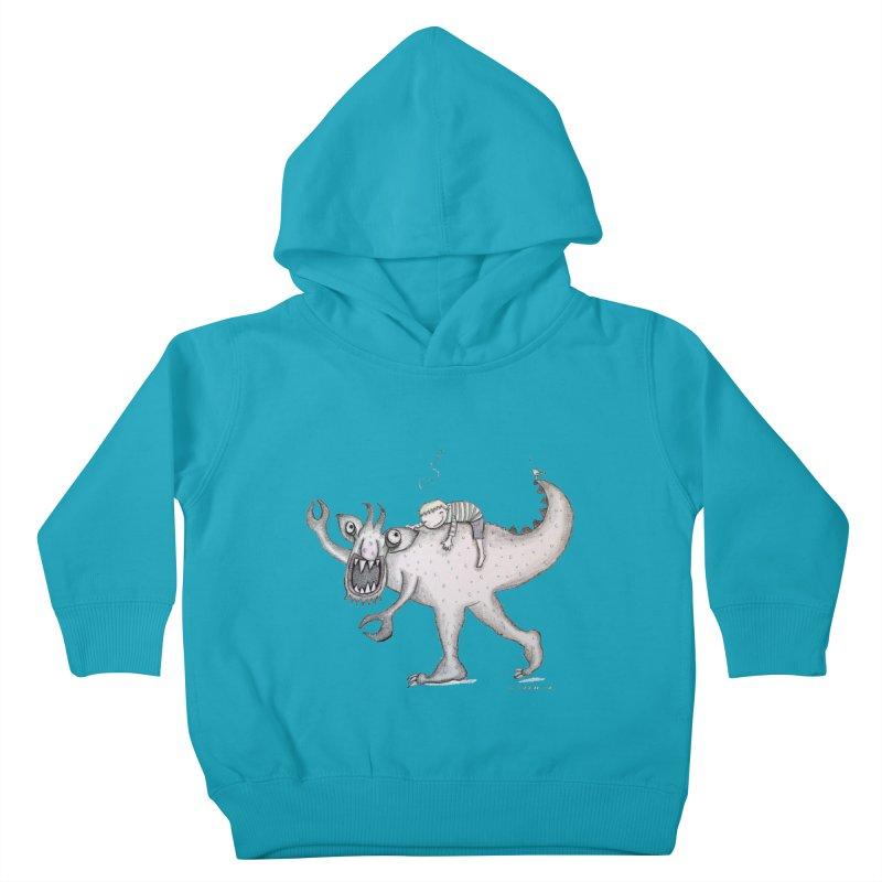 Marvellous monster of sleep Kids Toddler Pullover Hoody by caratoons's Shop