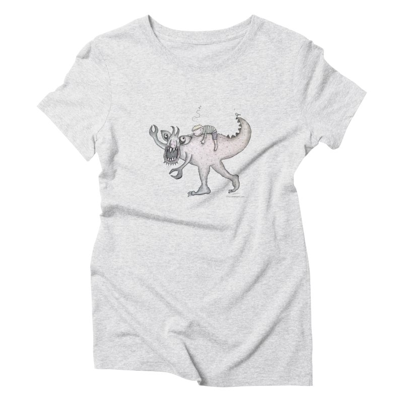 Marvellous monster of sleep Women's Triblend T-Shirt by caratoons's Shop