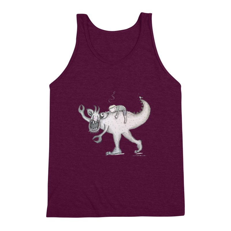 Marvellous monster of sleep Men's Triblend Tank by caratoons's Shop