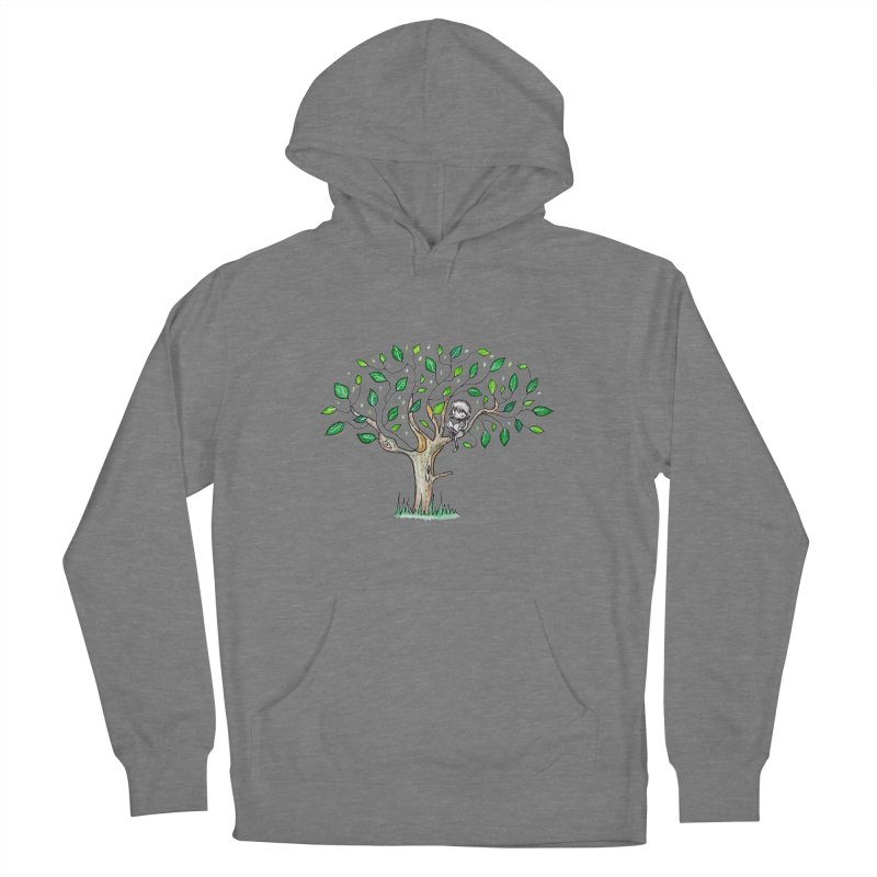 Book in a leafy spot Women's Pullover Hoody by caratoons's Shop