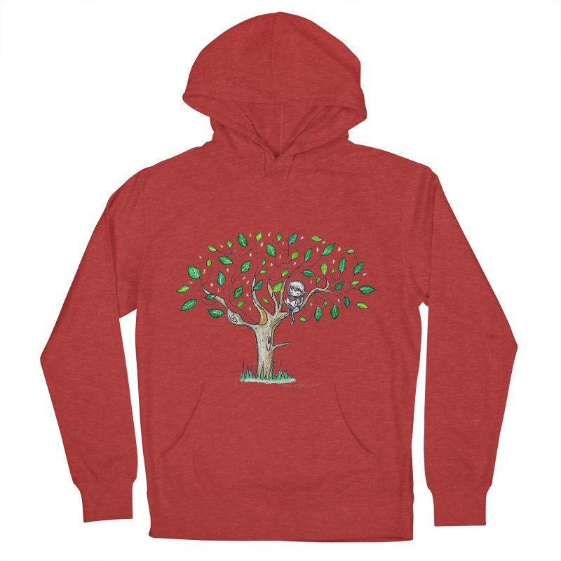Book in a leafy spot Men's Pullover Hoody by caratoons's Shop