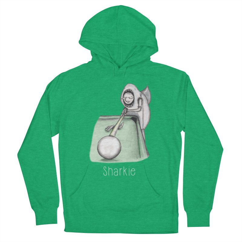 Pool Shark Men's French Terry Pullover Hoody by caratoons's Shop