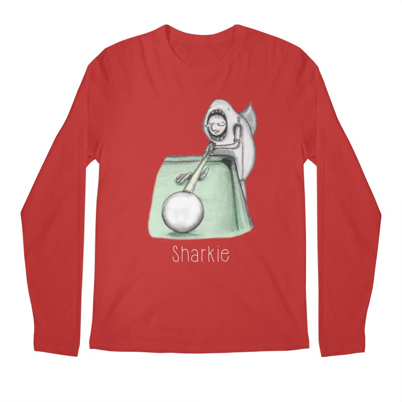 Pool Shark Men's Regular Longsleeve T-Shirt by caratoons's Shop