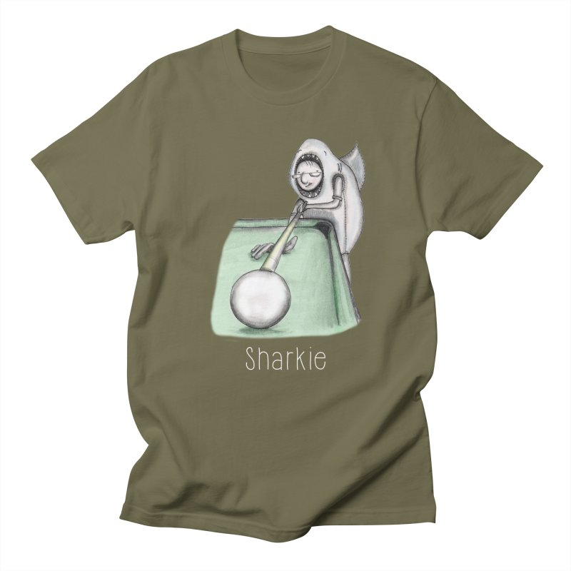 Pool Shark Men's Regular T-Shirt by caratoons's Shop
