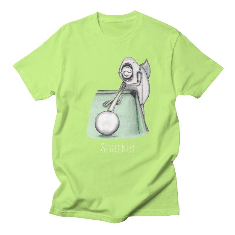 Pool Shark Men's T-shirt by caratoons's Shop