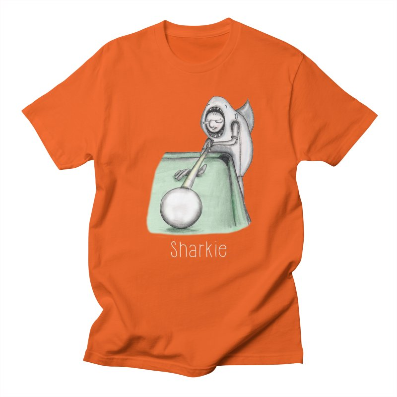 Pool Shark Men's Regular T-Shirt by caratoons's Shop
