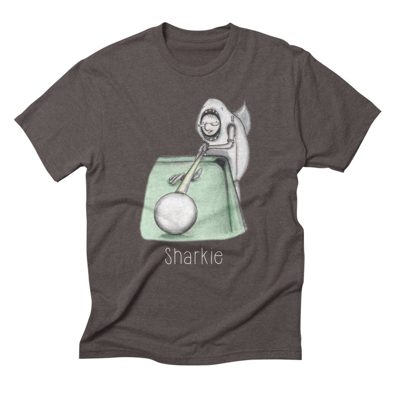 Pool Shark Men's Triblend T-Shirt by caratoons's Shop