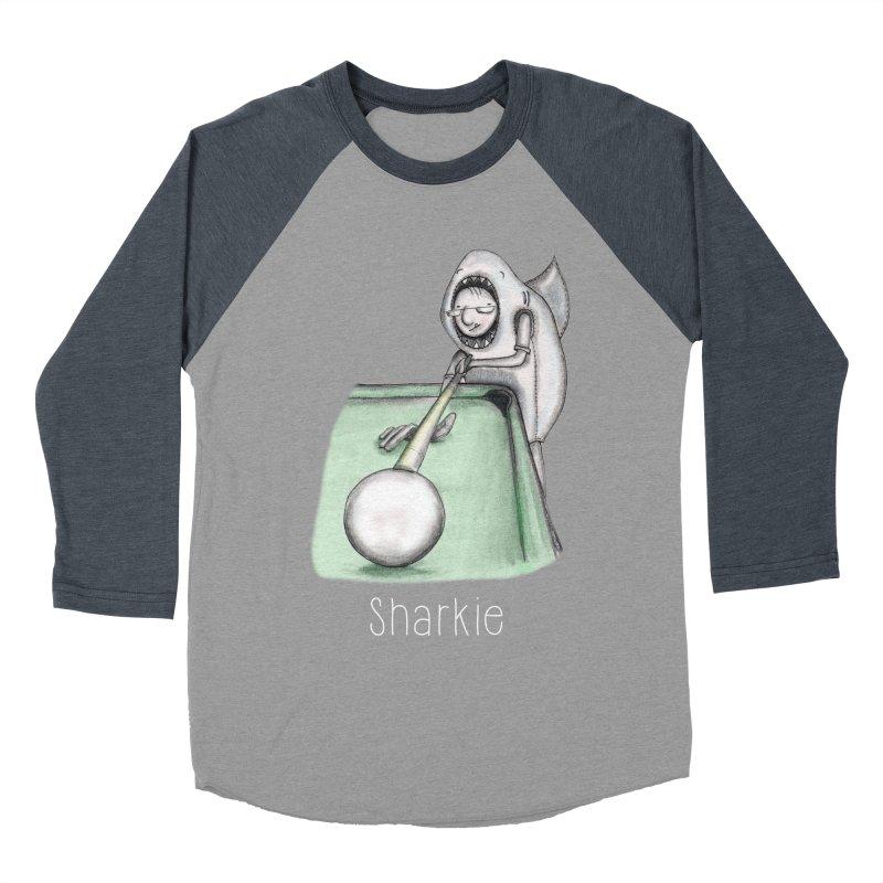 Pool Shark Men's Baseball Triblend Longsleeve T-Shirt by caratoons's Shop