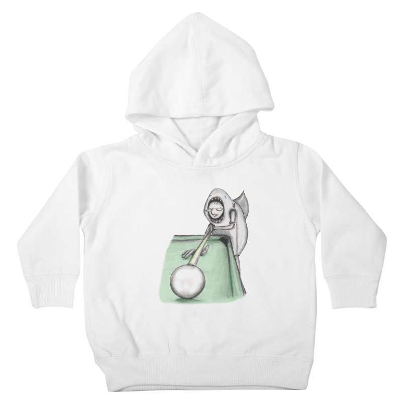 Pool Shark Kids Toddler Pullover Hoody by caratoons's Shop