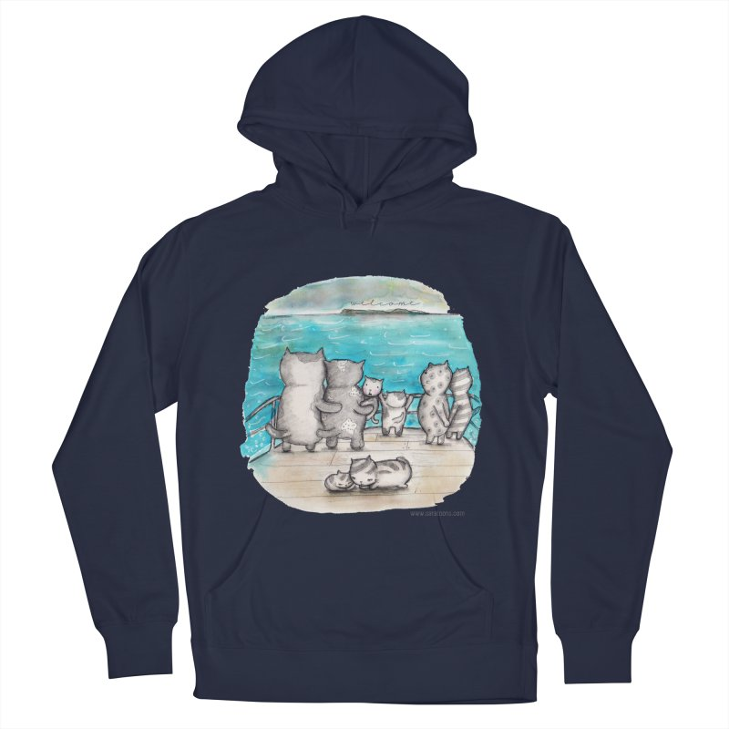 Welcome Refugees Women's Pullover Hoody by caratoons's Shop
