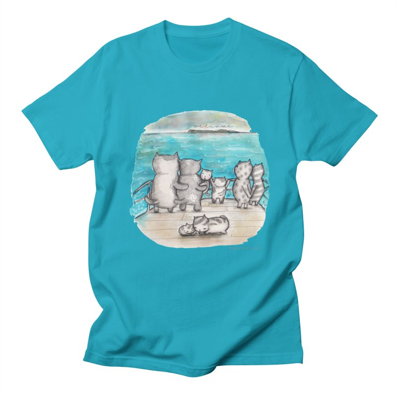 Welcome Refugees Men's Regular T-Shirt by caratoons's Shop